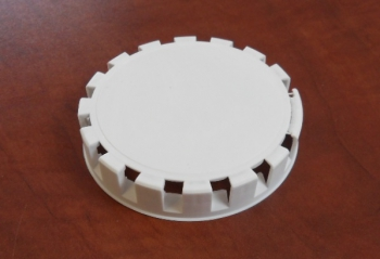 Disposable caps to fittings 'A' and 'M', white - 1000 pcs.
