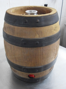 PARTY KEG 15L with Bavarian bunghole