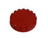Disposable caps to fittings 'A' and 'M', red - 1000 pcs.