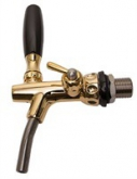 Gold plated tap