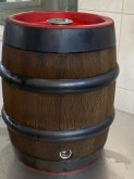 Party KEG 20l with Bavarian bunghole brown