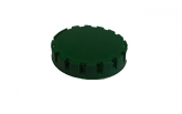 Disposable caps to fittings 'A' and 'M', green - 1000 pcs.